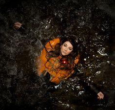 Kate Bush, revisiting the water.