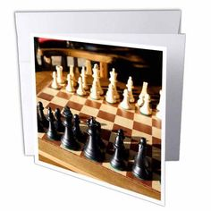 3dRose Argentina, El Calafate, Chess board, game - SA01 MME0236 - Michele Molinari, Greeting Cards, 6 x 6 inches, set of 6