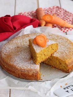 TORTA DI CAROTE SENZA UOVA ricetta torta di carote in padella o al forno Biscotti, Cornbread, Vanilla Cake, Dairy Free, Pancakes, Muffin, Vegan Recipes, Sugar, Eat