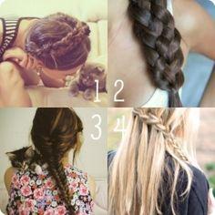 many many braids!