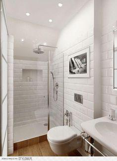 Mała łazienka w kolorze bieli: duży przegląd inspiracji na Stylowi.pl