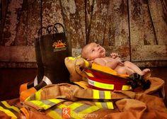 Fireman's Newborn Son - GK Wedding Photographer New Orleans  504-737-5557