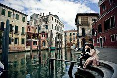 PRE WEDDING PHOTO SHOOT IN VENICE, ITALY