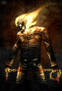 Ghost Rider: Vengeance by Gido on deviantART