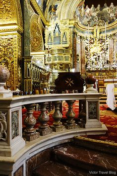If you had the opportunity to visit only one attraction of Malta, I would suggest St. John's Co-Cathedral of the Order of Malta.