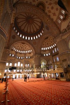 Sultan-Ahmed-Moschee, Istanbul, Türkei Islamic Architecture, Architecture Design, Sultan Ahmed Mosque, Beautiful Mosques, Travel, Art, Pictures, Architecture, Art Background