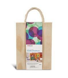 We Made It by Jennifer Garner™ Wooden Schoolhouse Set Online Craft Store, Craft Stores, Design Guidelines, Treasure Boxes, Joann Fabrics, Jennifer Garner, Box Design, Fabric Crafts, Homeschool