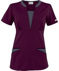 Best Buy Scrubs Contrast V-Neck Four Pocket Scrub Top UA Best Buy Scrubs Contrast V-Neck Four Pocket Scrub Top comes in more colors.UA Best Buy Scrubs Contrast V-Neck Four Pocket Scrub Top comes in more colors. Spa Uniform, Scrubs Uniform, Hotel Uniform, Medical Uniforms, Work Uniforms, Buy Scrubs, Medical Scrubs, Nursing Scrubs, Scrubs Outfit