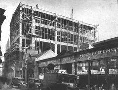 Huidig V&D pand in aanbouw (eind jaren twintig) Eindhoven