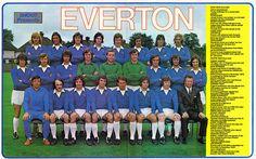 1973/74 Everton FC