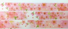 Sakura washi tape by April103 on Etsy https://www.etsy.com/ca/listing/240093152/sakura-washi-tape