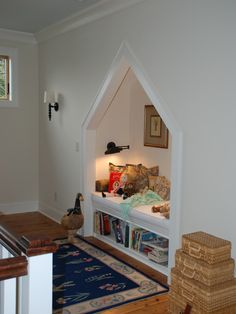"ericlathiere: ""Quiet Reading Nook Traditional Hall Charleston """