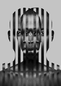 New Digital Art Photography Photomontage Ideas Inspiration Art, Graphic Design Inspiration, Creative Inspiration, Portrait Inspiration, Fitness Inspiration, Photomontage, Art Du Collage, Collage Portrait, Abstract Portrait
