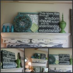 Love everything about this mantle