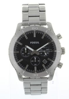 Price:$93.13 #watches Fossil CH2814, Stainless steel case, Stainless steel bracelet, Black chronograph dial, Quartz movement, Scratch-resistant mineral, Water resistant up to 10 ATM- 100 Meters-330 Feet