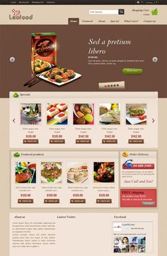 Leo Food Prestashop Theme, best theme, prestashop version 1.6.0.8, Responsive