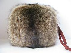 Vintage Fur Muff Purse Fox Fur Muff Purse by Sfuso on Etsy #gotvintage #etsygifts #vintagefashion