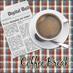 Create a nifty newspaper clipping for your scrapbook layouts | Digital Scrapper