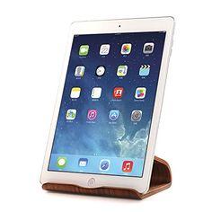 eimolife ® naturel bois bambou & Creative Stand titulaire exclusif pour Apple iPad, SamSung, téléphone de feu, Kindle, Universal   Mobile Phone, tablettes, eReaders, livres, artisanat et plus