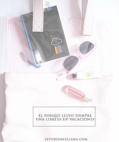 Mi secreto para tener siempre ideas: llevar siempre una libreta durante mis vacaciones #libreta #handmade #papeleria #bulletjournal