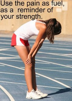 pushing yourself is the only way to get stronger..