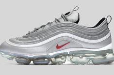 on sale bff28 c3299 The Nike Air VaporMax 97 Silver Bullet is an upcoming style that is  scheduled to release later this month to celebrate Air Max Day.
