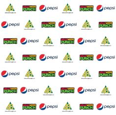 Catchfortyeight Hollywood Punch and Pepsi Step and Repeat Banner 8330 | www.sign11.com