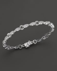 2,088.00$  Buy here - http://vinyf.justgood.pw/vig/item.php?t=0g7zq3e8372 - Bloomingdale's Diamond Bracelet in 14K White Gold, 1.50 ct. t.w. - 100% Exclusive 2,088.00$