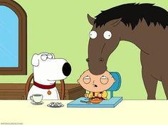"""Hey, horsey. Want a sugar cube?"""
