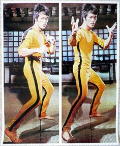 Game of death poster from the 70's
