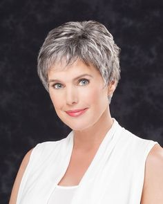 Lace Front Straight Cropped Grey Hair Wigs (SKU: – Short Wigs – Wigs – Daily Posts for Women Short Hair Over 60, Short Hair Older Women, Hair Styles For Women Over 50, Short Grey Hair, Haircut For Older Women, Short Hair Wigs, Short Hair With Layers, Short Hairstyles For Women, Human Hair Wigs