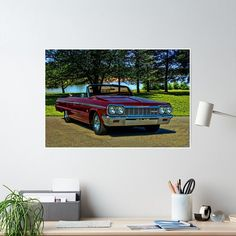 This great looking restored 1964 Chevrolet Impala Convertible is equipped with a 409 Cubic Inch engine. Rolls Royce Black, Rolls Royce Cars, Classic Cars British, Bmw Classic Cars, Vintage Rolls Royce, Best Muscle Cars, Chevrolet Impala, Sell Your Art, Buick