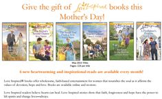 #Giveaway: Win Set of 6 Love Inspired Series books (Ends 4/29)