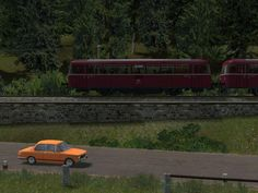Schienenbus VT98 Bauart MAN