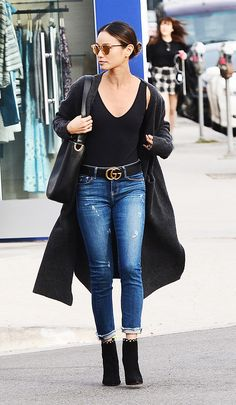 Can't bear the thought of parting with your skinnies on date night? These skinny-jean outfits will impress your date just as much as a minidress would.