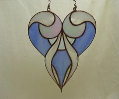 stained glass hearts - Google Search