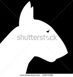 stock-vector-dog-on-a-black-background-bull-terrier-dog-vector-illustration-bull-terrier-silhouette-dog-450474580.jpg (450×470)