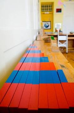 7 Tips to Setting Up a Montessori Classroom,  love the notes about simple shelves and walls