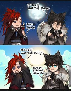 Nobody's perfect by kawacy. Cookie Run Vampire Cookie and Werewolf Cookie Funny Cartoons, Funny Comics, Cookie Run, Vampires And Werewolves, Cartoon Shows, Werewolf, Kawaii Anime, Comic Strips, Manga Games