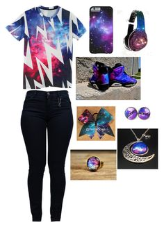 Galaxy Ride. by naturelover1401 on Polyvore featuring polyvore, fashion, style, Armani Jeans and Beats by Dr. Dre