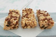 Whip up the most delicious Thermomix No-Bake Muesli Bars in no time at all!