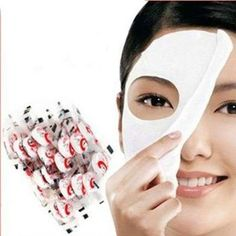 100 pcs Skin Face Care DIY Facial Paper Compress Masque Mask by China. $14.45. Put a Compressed paper mask to small container,then pour into cosmetic solution, conditioning solution,or fruit juice, milk, etc., paper mask will be naturally expansible for several seconds ,then it is a face mask for the public . Spreads on the face, you can remove after about 15 minutes .