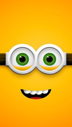 Yellow wallpaper: ↑↑tap and get the free app! art cartoon fun despicable me minions 2015 blue … Crazy Wallpaper, Smile Wallpaper, Cute Wallpaper For Phone, Cute Disney Wallpaper, Colorful Wallpaper, Lookscreen Iphone, Emoji Wallpaper Iphone, Cellphone Wallpaper, Minion Wallpaper Hd