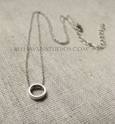 Modern Trendy simple minimalist jewelry by BelhavenStudios on Etsy