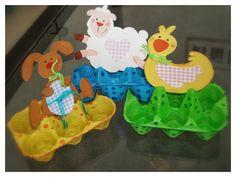 Y'a Maman à la maison: Boîte à œufs Lapin #diy #paques