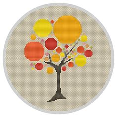 Hey, I found this really awesome Etsy listing at https://www.etsy.com/uk/listing/286832171/bubble-tree-cross-stitch-pattern-modern
