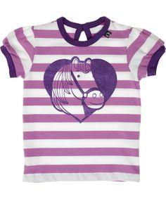 Danefae sweet horse printed t-shirt. danefae.en.emilea.be
