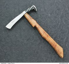 Railroad Spike Tomahawk - I need to brush up on my blacksmithing