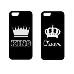 König königin coque abdeckung case für iphone 4 s 5 5 s 5c se 6 6 s plus samsung s3 s4 s5 mini s6 s7 rand plus a3 a5 a7 hinweis 2 3 4 5