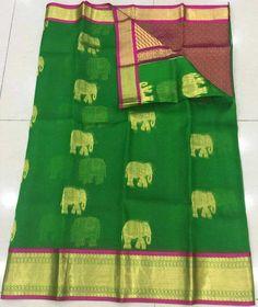 Kanchi organza sarees | Buy online Organza Sarees At Best Prices | Elegant Fashion Wear